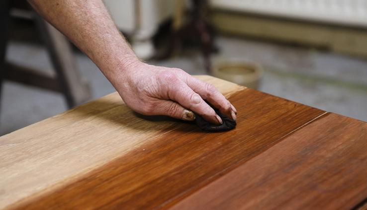 کابینت کلاسیک رنگ چوب
