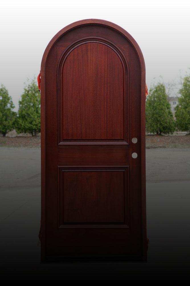 درب چوبی هلالی