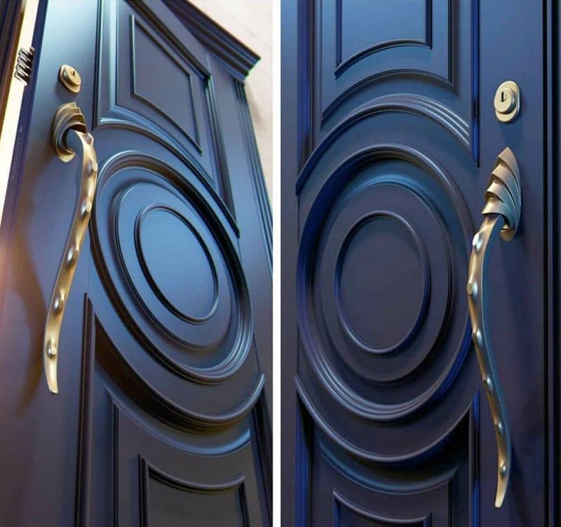 درب چوبی ضد آب